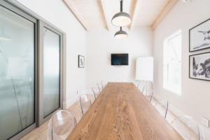 Board room with Audio visual
